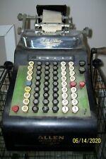 Rc Allen Cash Register : allen, register, Vintage, Allen, Calculator, Business, Adding, Machine, Online
