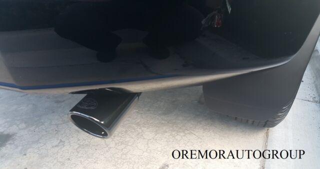 2010 2021 toyota 4runner exhaust tip genuine oem black chrome