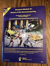Queen Of The Demonweb Pits : queen, demonweb, Queen, Demonweb, Module, Dungeons, Dragons, Online