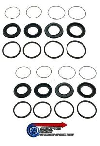 New 4 Pot Front Caliper Repair Kit x 2 Sets- For R34