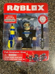 Roblox Toy Codes 2019 : roblox, codes, ROBLOX, SIMULATOR:, DIVER, Figure, Shark, Tangs, Match, Virtual