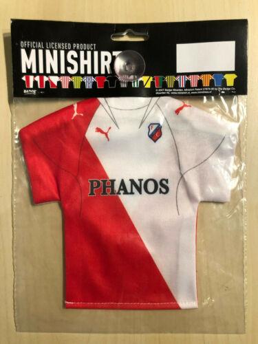 fc utrecht fussball trikot furs auto mini trikot kit holland minishirt 054 fussball fussball fanshop