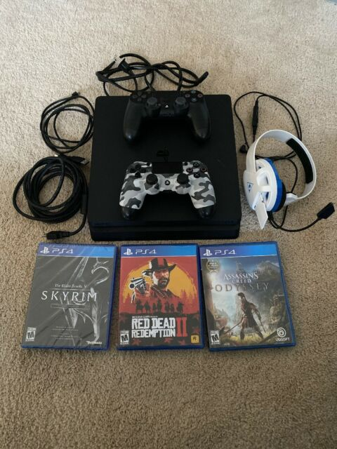 Sony Playstation 4 Slim Uncharted 4 Console Bundle - Black for sale online   eBay