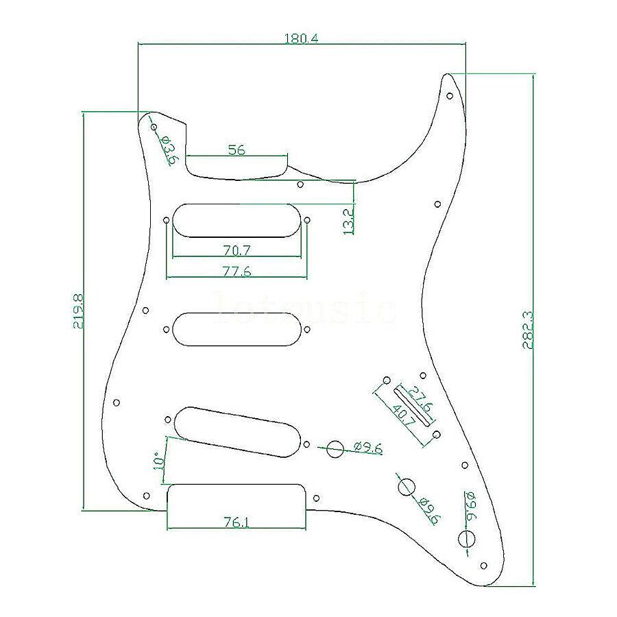 Tortoise Guitar Pickguard Scratch Plate for Fender