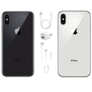 Apple iPhone X 256GB - GSM&CDMA Unlocked-USA Model-Apple Warranty-BRAND NEW!