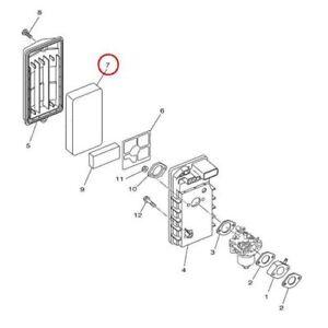 Yamaha-Motor 7VJ-14451-00-00 Generator Air Cleaner Filter