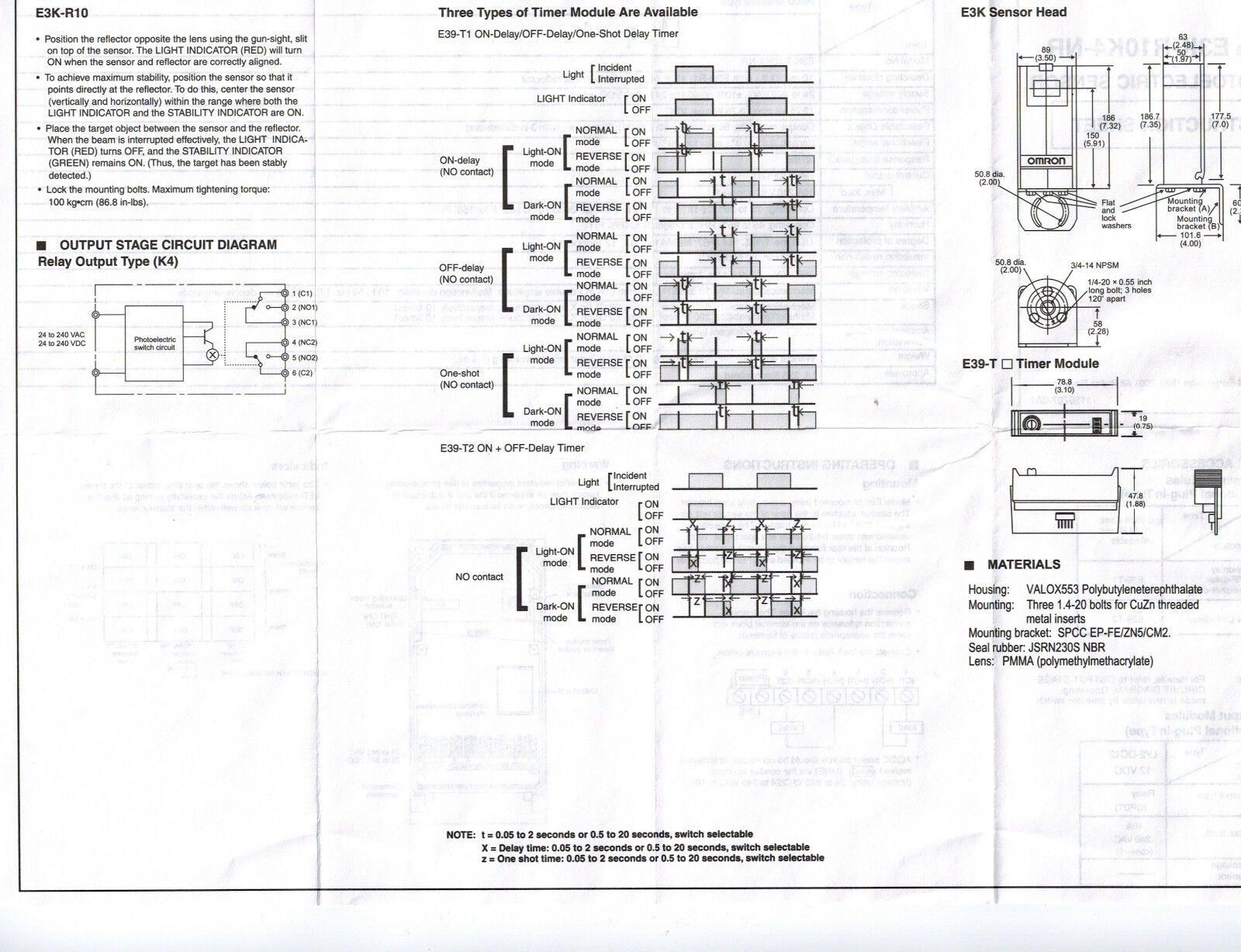 Omron E3k R10k4 Nr Wiring Diagram Free Download • Oasis-dl.co