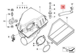 Genuine BMW E60N E61 Intake Silencer / Filter Cartridge