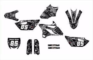 2015 2016 YZ 85 graphics Yamaha YZ85 decal kit #9500-Metal