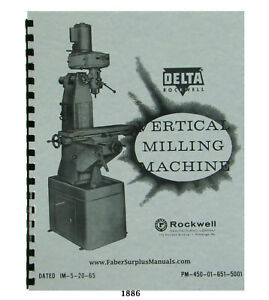 Rockwell Milling Machine