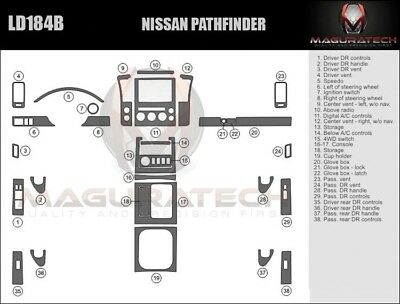 Fits Nissan Pathfinder 2005-2007 With Manual AC Large