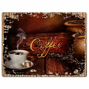 PP0944 COFFEE Parking Plate Chic Sign Home Restaurant Cafe Kitchen Decor Gift  eBay