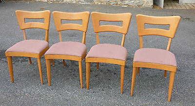 heywood wakefield dogbone chairs queen anne style chair covers collection on ebay set 4 dining champagne dog bone no reserve