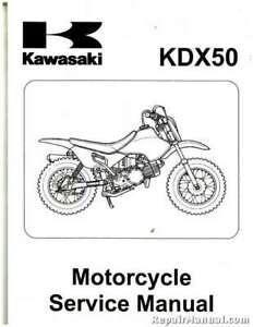 2003-2006 Kawasaki KDX50A Motorcycle Service Manual