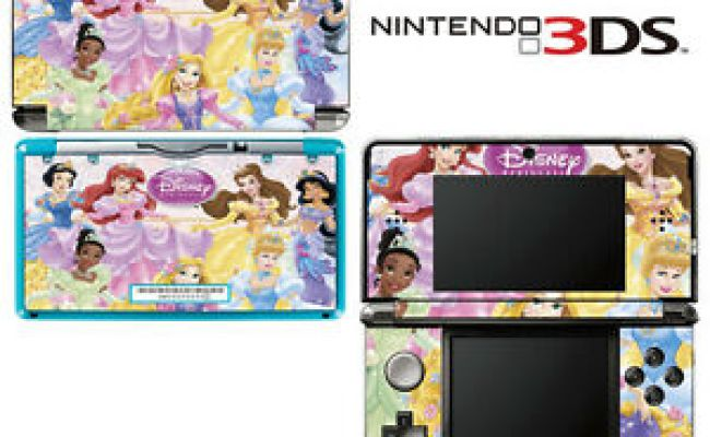 Vinyl Skin Decal Cover For Nintendo 3ds Princess Friends