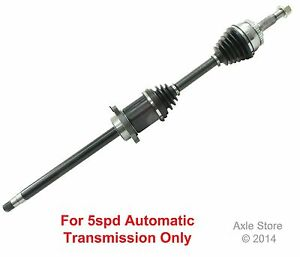 New CV Axle Front Right Side Fits Nissan Maxima with 5spd