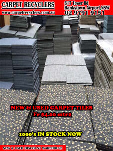 details about cheap second hand carpet tiles at a fraction of new replacement cost