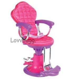 doll salon chair cow print hot pink for american girl 18 lovvbugg true us image is loading