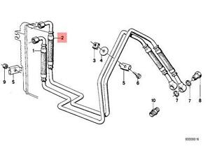 Genuine BMW E23 728 730 733i Transmission Oil Cooling Pipe