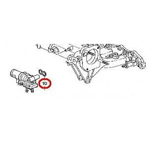 OEM Honda Idle Air Control Gasket 1988-1991 Civic IAC EF