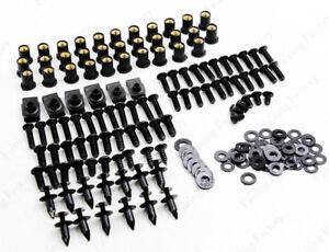 Complete Fairing Bolt Kit Bodywork Screw For Kawasaki