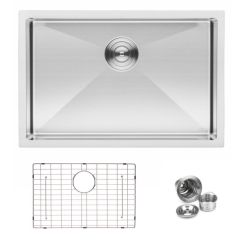 27 Kitchen Sink Booth Table For Bai 1247 Shallow Handmade Stainless Steel Single Bowl