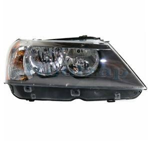 11-14 BMW X3 Front Headlight Headlamp Halogen Head Light Lamp w/Bulb Right Side   eBay