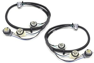 OEM NEW Tail Light Wiring Harness Rear Right & Left Set 99
