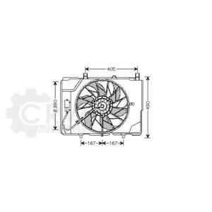 Fan Engine Cooling Mercedes C Class W202 SLK R170 CLK
