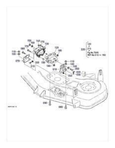 New OEM Kubota Gearbox Gear Box K5617-33102 K5617-33100
