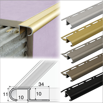 anti slip stair nosing edge trim step nose edging nosings for tiles a81 ebay