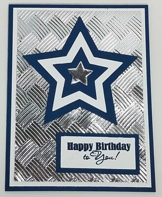 Happy Birthday Dallas Cowboys Images : happy, birthday, dallas, cowboys, images, Handcrafted, Greeting, Happy, Birthday, Masculine, Dallas, Cowboys