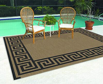 patio mat 9 x 12 reversible rv indoor outdoor area rug camping garden portable