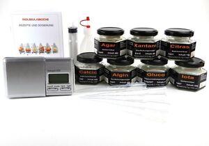 Maxi Set Molekulare Kche Molekularkche Texturgeber von Texturas  eBay