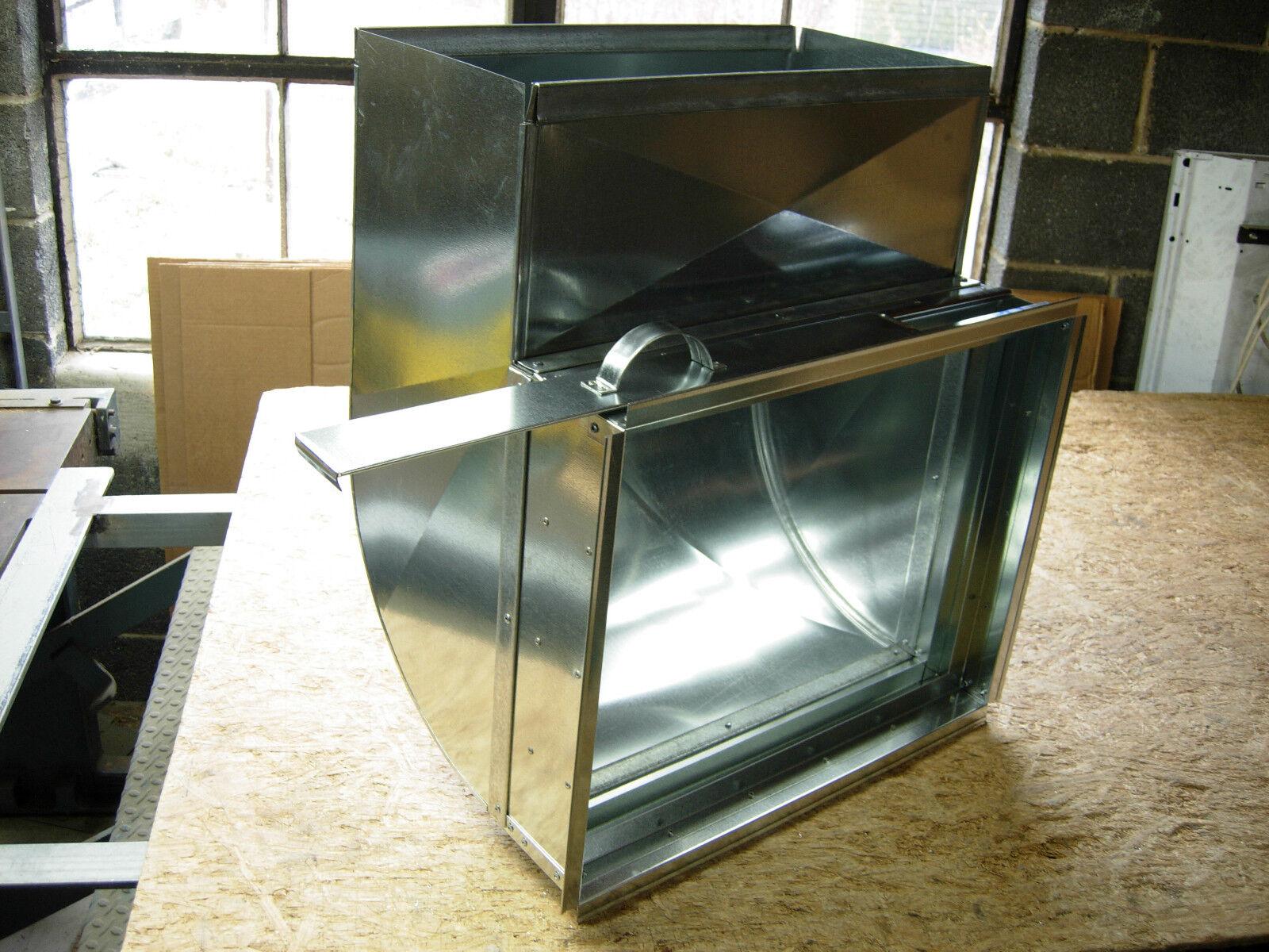 installing filter rack between furnace