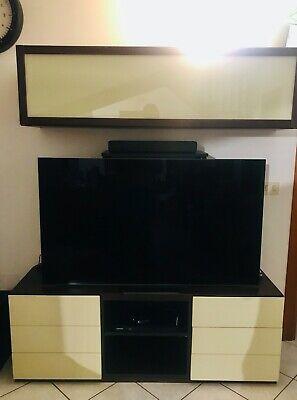 Guardaroba ingresso in vendita in arredamento e casalinghi: Usato Parete Attrezzata Moderna Per Tv Soggiorno E Sala Di Mondo Convenienza Ebay
