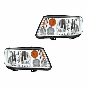 Fits 03-05 VW Jetta Driver Passenger Headlight Lamp