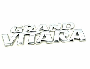 Genuine New SUZUKI GRAND VITARA BADGE Emblem For Side Door