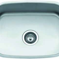 Undermount Single Bowl Kitchen Sink Paint Cabinets Large Stainless Steel Ebay