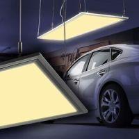 LED Panel Hngeleuchten Brolampen Arbeits Raster Garagen