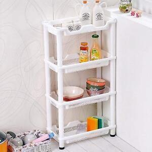 kitchen caddy sink garbage disposal 4 tier fruit vegetable rack storage stand bathroom image is loading