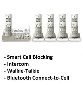 AT&T TL96487 DECT 6.0 5-Handset Cordless Phone System