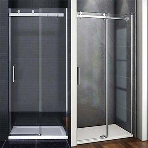 Strong Bearing Frameless Sliding Shower Enclosure Glass