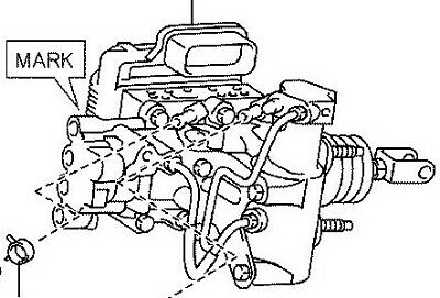 TOYOTA PRIUS BRAKE BOOSTER ASSEMBLY WITH MASTER CYLINDER
