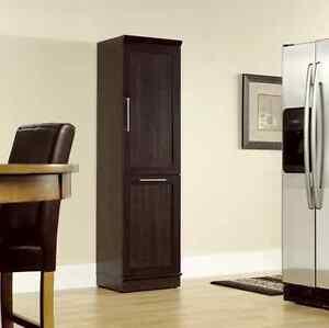 tall kitchen garbage can rock backsplash pantry storage cabinet trash bin shelf wood image is loading