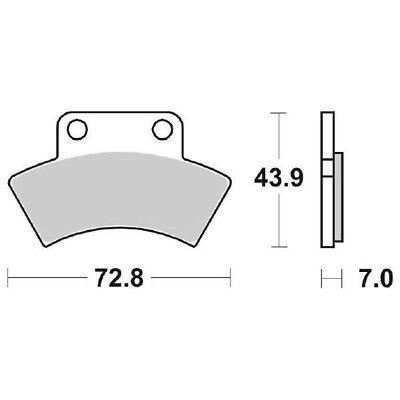 Ms-68f7de9027 Pill brake post. SBS 717ats 90 4x4 250