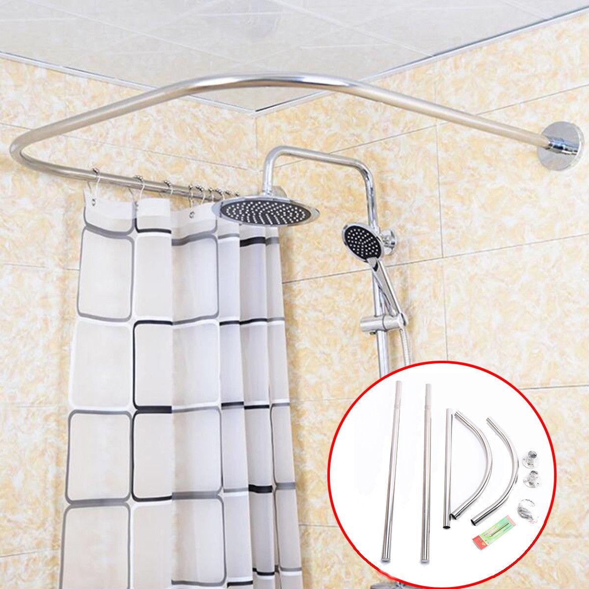 rods myn adjustable curved shower