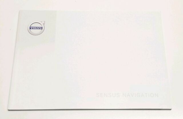 2016 VOLVO V60 SENSUS NAVIGATION SYSTEM OWNERS MANUAL