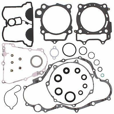 Yamaha WR450F, 2007-2015, Complete Gasket Set with Seals