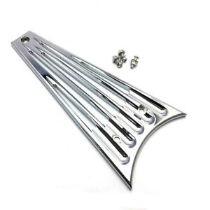 Chrome CNC Frame Grill Cover For Harley Touring FLHT FLHR